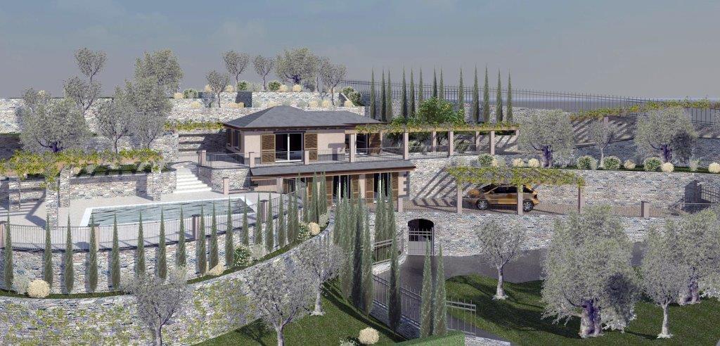 Villa di prestigio ad Alassio di nuova realizzazione